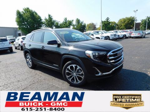 New 2020 GMC Terrain SLT FWD 4DR CROSS